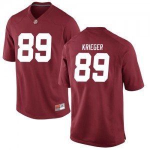 Youth Alabama Crimson Tide Grant Krieger #89 College Crimson Replica Football Jersey 779034-157