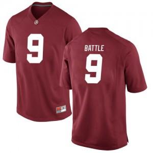 Youth Alabama Crimson Tide Jordan Battle #9 College Crimson Replica Football Jersey 157043-658