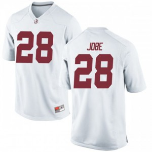 Youth Alabama Crimson Tide Josh Jobe #28 College White Game Football Jersey 996035-424