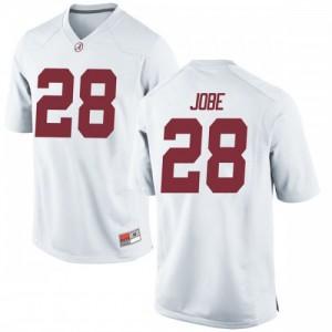 Youth Alabama Crimson Tide Josh Jobe #28 College White Replica Football Jersey 278581-192