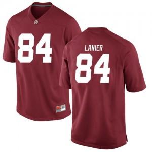 Youth Alabama Crimson Tide Joshua Lanier #84 College Crimson Replica Football Jersey 391276-808
