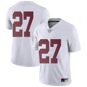 Youth Alabama Crimson Tide Joshua Robinson #27 College White Limited Football Jersey 760985-996