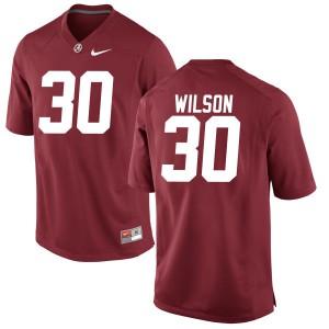 Youth Alabama Crimson Tide Mack Wilson #30 College Crimson Game Football Jersey 399556-130