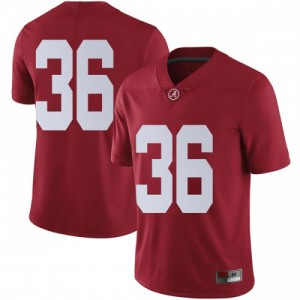 Youth Alabama Crimson Tide Markail Benton #36 College Crimson Limited Football Jersey 117732-488