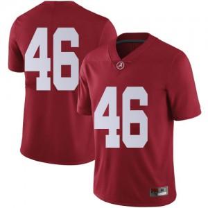 Youth Alabama Crimson Tide Melvin Billingsley #46 College Crimson Limited Football Jersey 710942-113