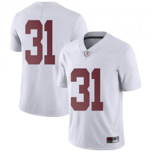 Youth Alabama Crimson Tide Michael Collins #31 College White Limited Football Jersey 499492-662