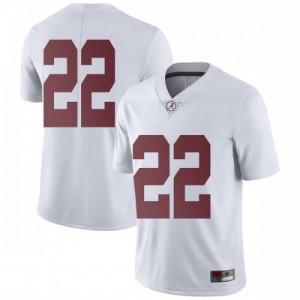 Youth Alabama Crimson Tide Najee Harris #22 College White Limited Football Jersey 596017-525