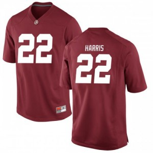 Youth Alabama Crimson Tide Najee Harris #22 College Crimson Replica Football Jersey 225752-177