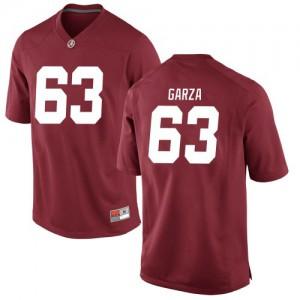 Youth Alabama Crimson Tide Rowdy Garza #63 College Crimson Replica Football Jersey 538477-146