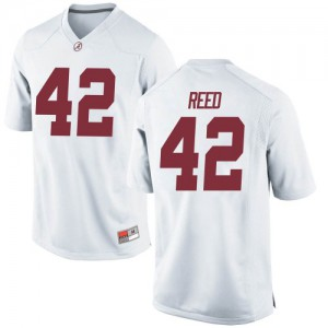 Youth Alabama Crimson Tide Sam Reed #42 College White Game Football Jersey 366379-580