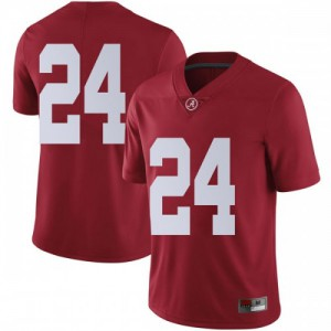 Youth Alabama Crimson Tide Terrell Lewis #24 College Crimson Limited Football Jersey 857569-596
