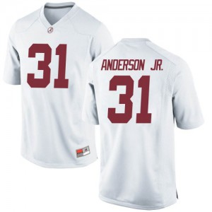 Youth Alabama Crimson Tide Will Anderson Jr. #31 College White Game Football Jersey 198116-518